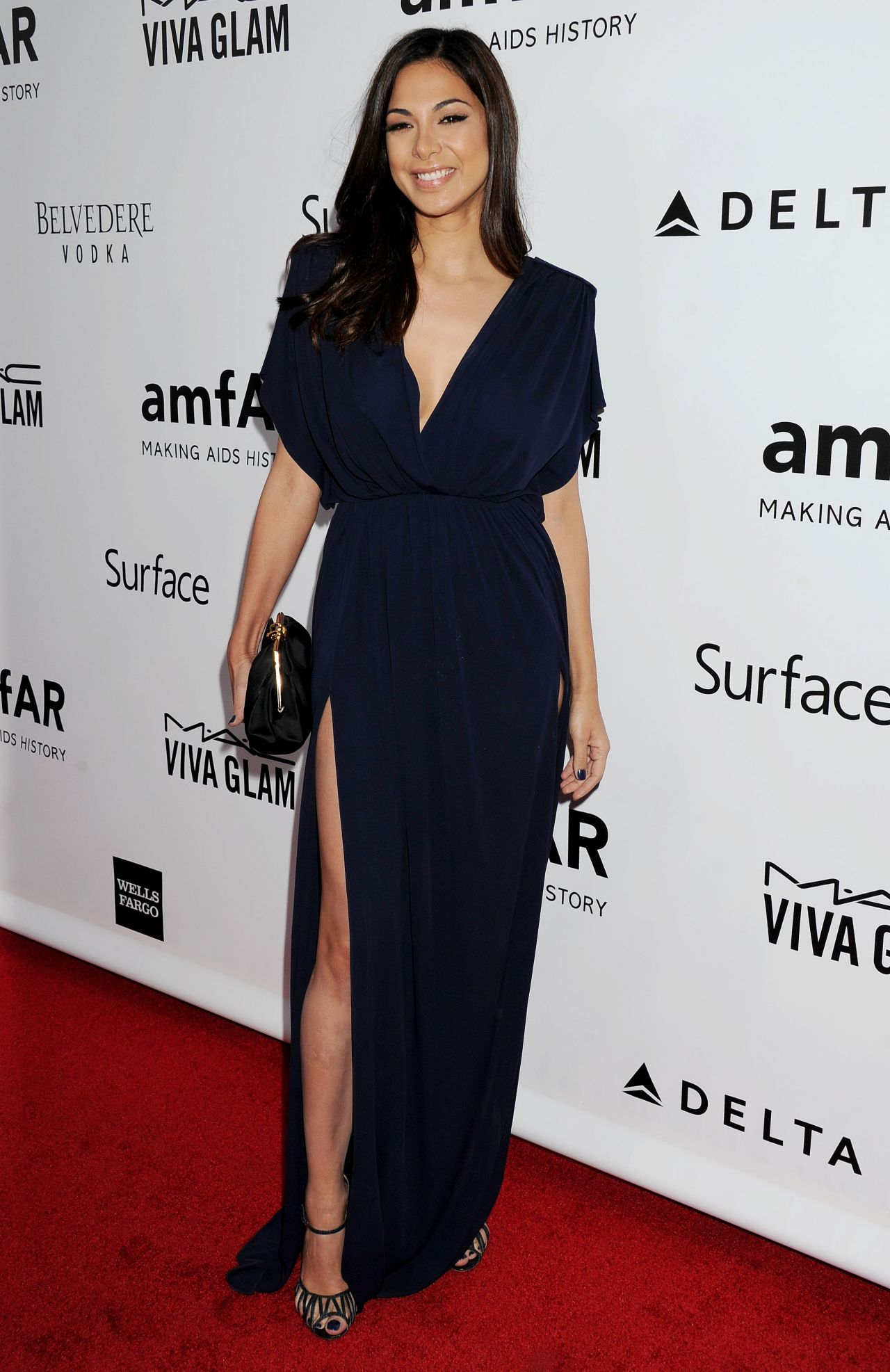 Moran Atias Red Carpet Photos - 2013 amFAR Inspiration Gala Los Angeles in LA