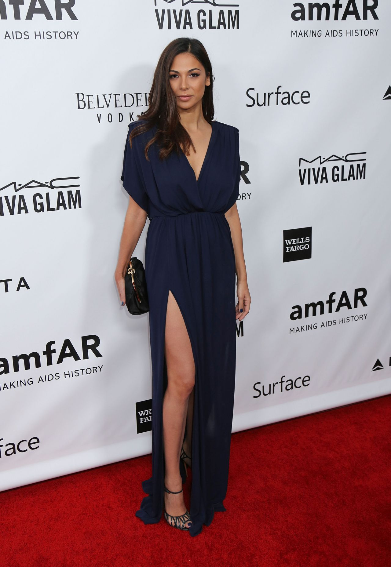 Moran Atias Red Carpet Photos 2013 Amfar Inspiration