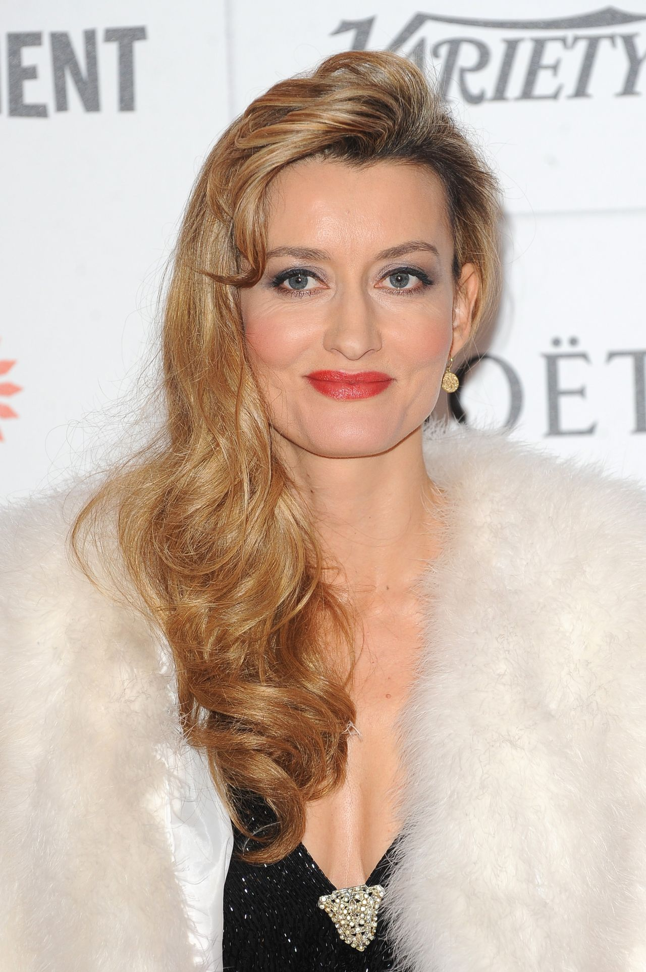 Natascha McElhone on Red Carpet - 2013 Moet British Independent Film Awards