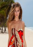 Nina Agdal in a Bikini - Sauvage Swimwear 2014 - 19 High Quality Photos