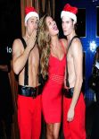 Nina Agdal - Red Hot at Hooray Henry