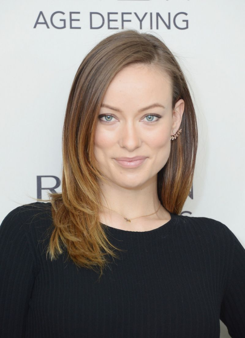 olivia wilde at revlons new age defying collection launch