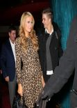 Paris Hilton At Mastros Restaurant In Beverly Hills - December 2013