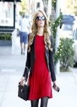 Paris Hilton Street Style - Beverly Hills December 23, 2013