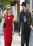 Paris Hilton Street Style - Shop in West Hollywood and Beverly Hills - December 2013