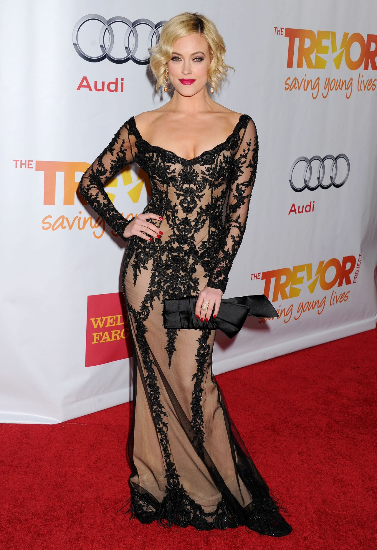 Peta Murgatroyd on Red Carpet - Trevor Project