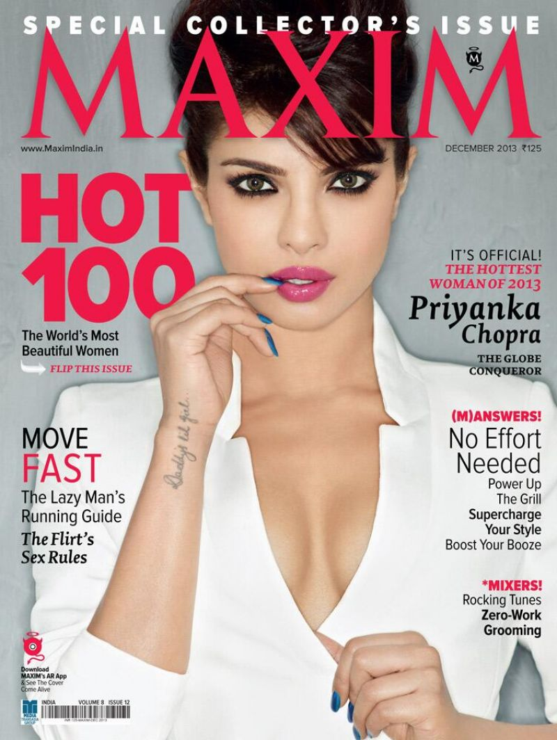 Priyanka Chopra - MAXIM Magazine (India) - December 2013 Issue