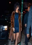 Rihanna Night Out Style - Outside Marquee Nightclub in New York
