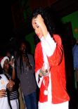 Rihanna - Priva Barbados Lounge and Night Club, Holetown, Barbados - December 2013