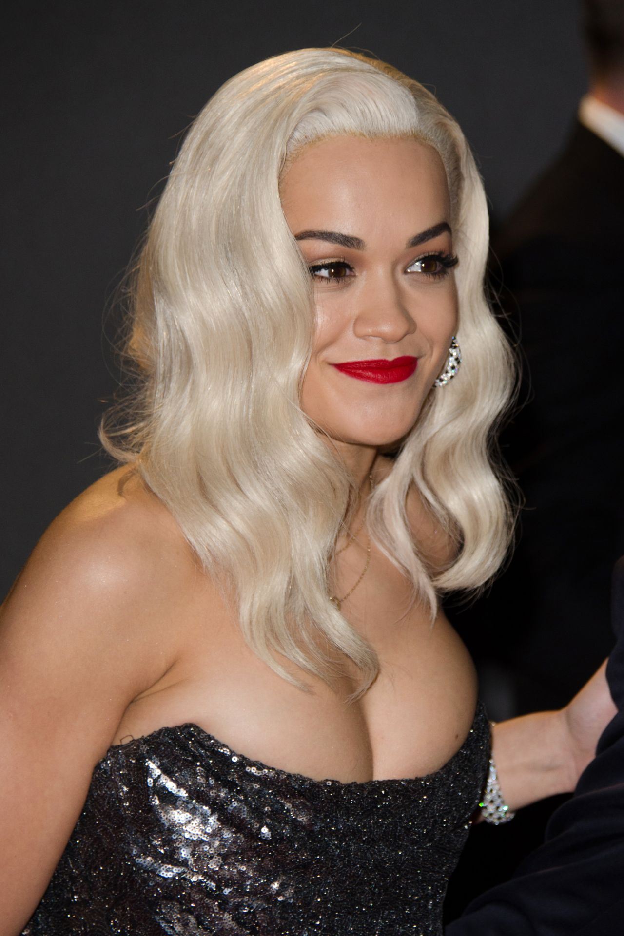 Rita Ora at The British Fashion Awards - London  December 2013