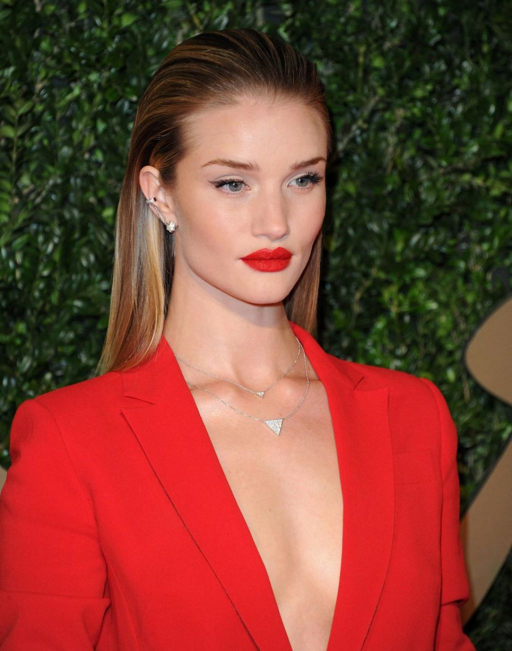Rosie Huntington-Whiteley at British Fashion Awards in London - December 2013