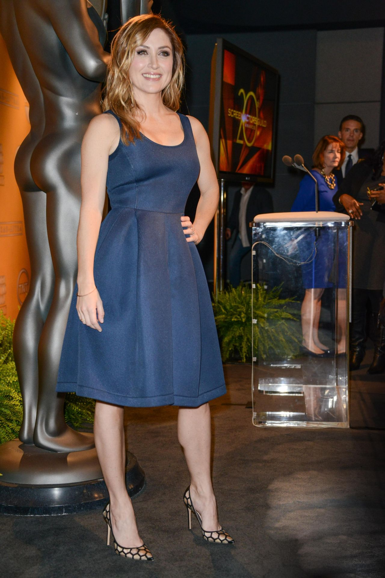 Sasha Alexander at SAG Awards Nominations Announcement - Los Angeles December 2013