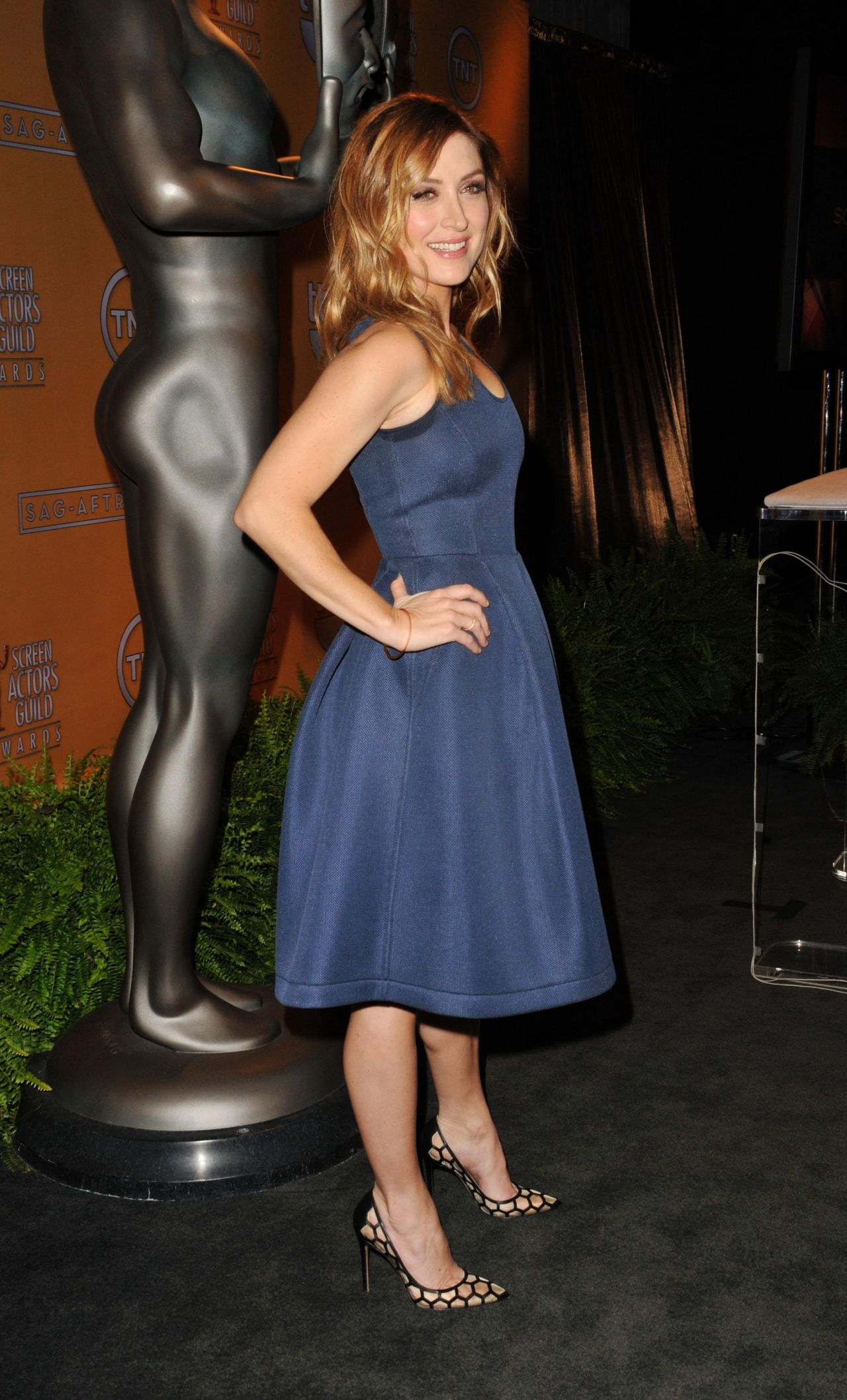 Sasha Alexander At Sag Awards Nominations Announcement