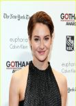 Shailene Woodley Red Carpet Photos - 2013 Gotham Independent Film Awards in New York City