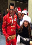 Shania Twain Enjoying at Great Santa Run in Las Vegas - December 2013