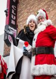 Shania Twain Enjoying at Great Santa Run in Las Vegas - December 2013