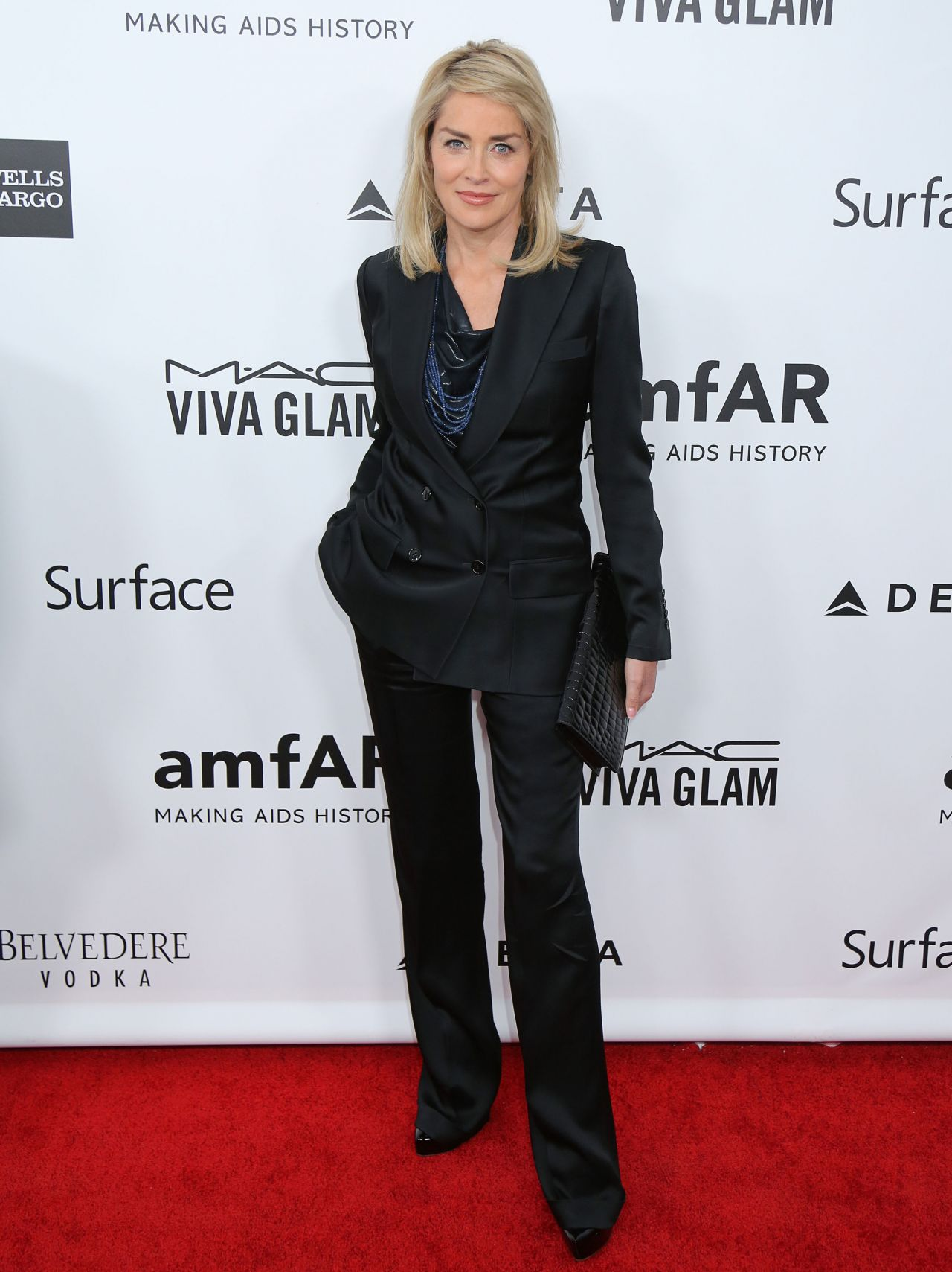 Sharon Stone at 2013 amFAR Inspiration Gala Los Angeles in LA - December 2013
