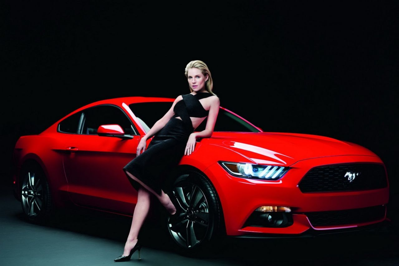 Sienna Miller Photoshoot for 2015 Ford Mustang
