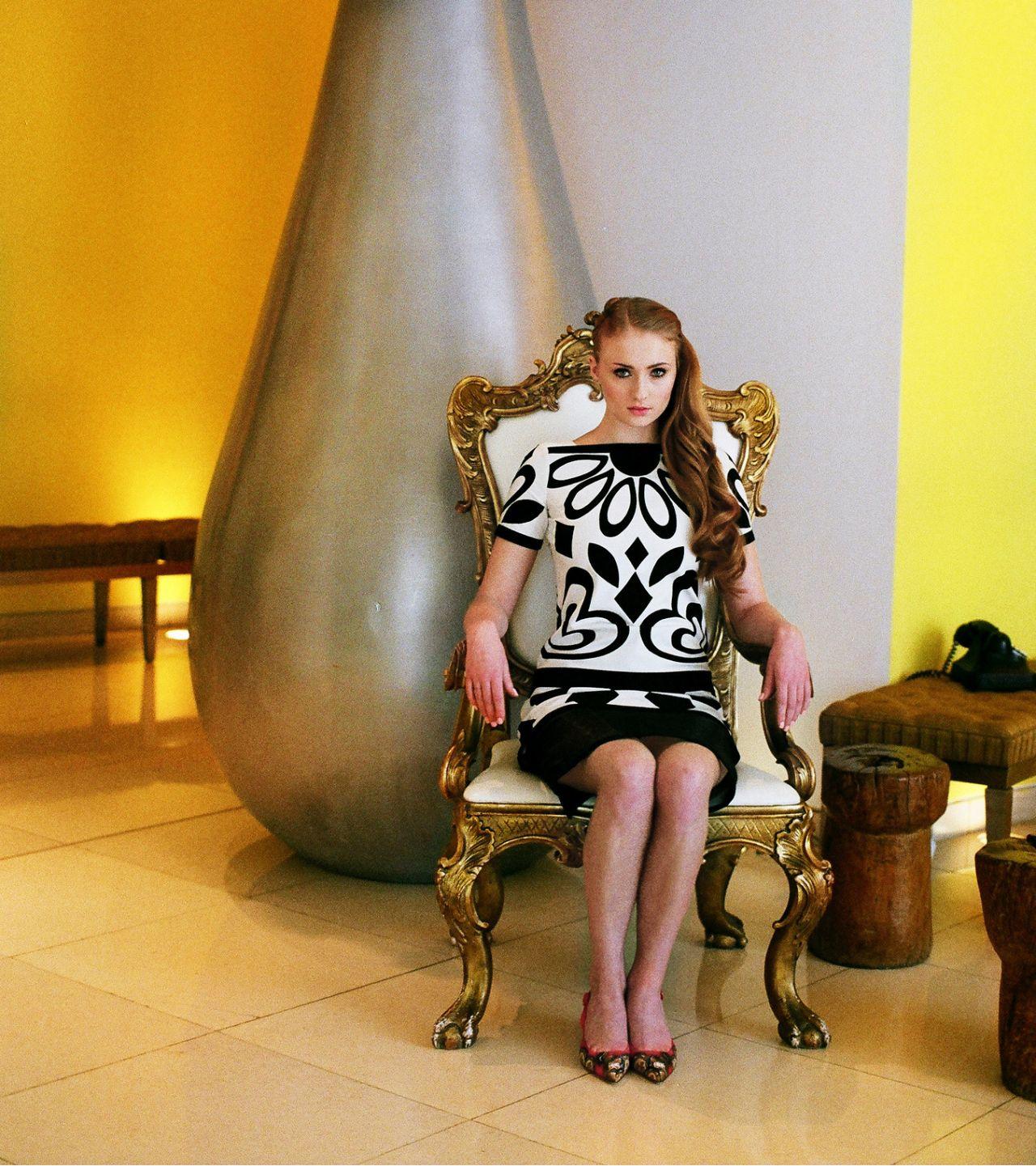 Sophie Turner Interview Magazine Photoshoot 2013