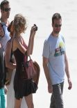 Taylor Swift at Cottesloe Beach in Perth - Australia December 2013