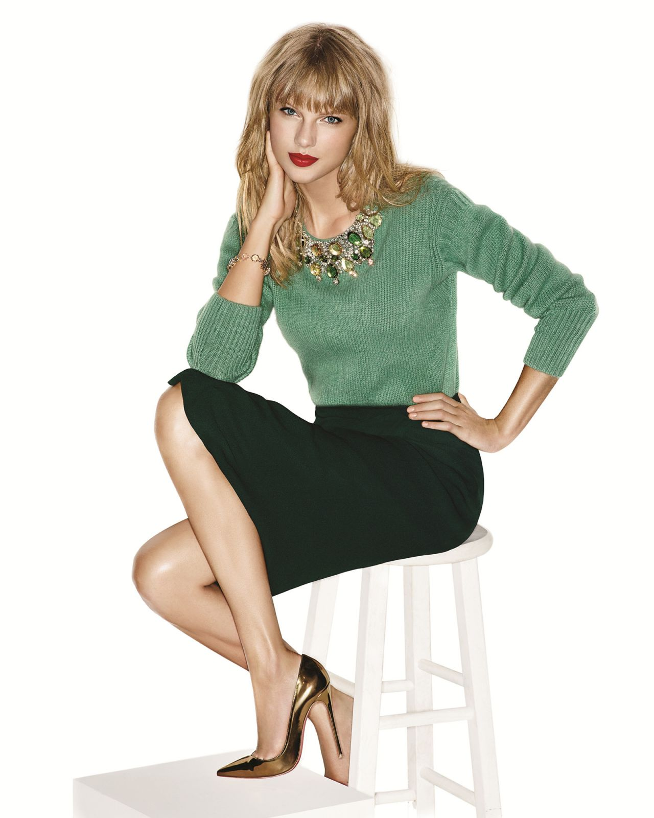 Taylor Swift - INSTYLE Magazine (US) - November 2013 Issue