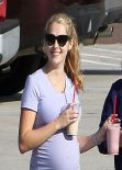 Teresa Palmer Street Style - Out of a Gym in Los Angeles - December 2013