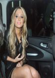Tulisa Contostavlos Night Out Style - London November 2013