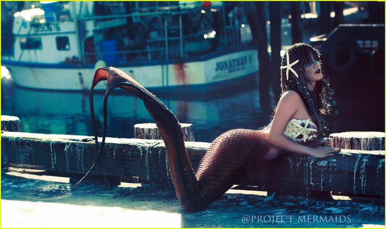 Vanessa Hudgens as Meramaid - Project Mermaids 2013 Photoshoot