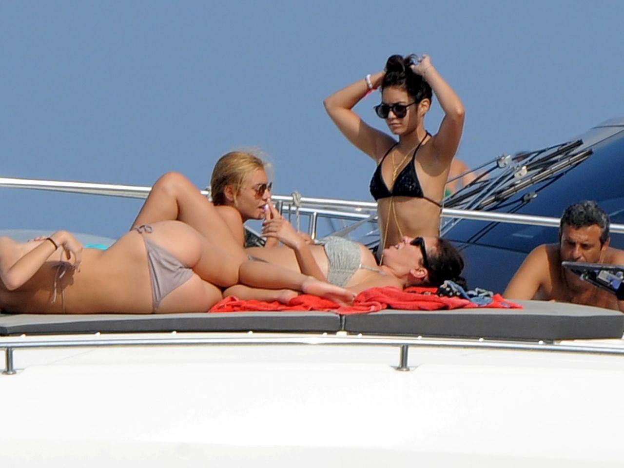 Bikini On A Boat