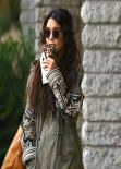 Vanessa Hudgens Street Style - out in Studio City - December 2013
