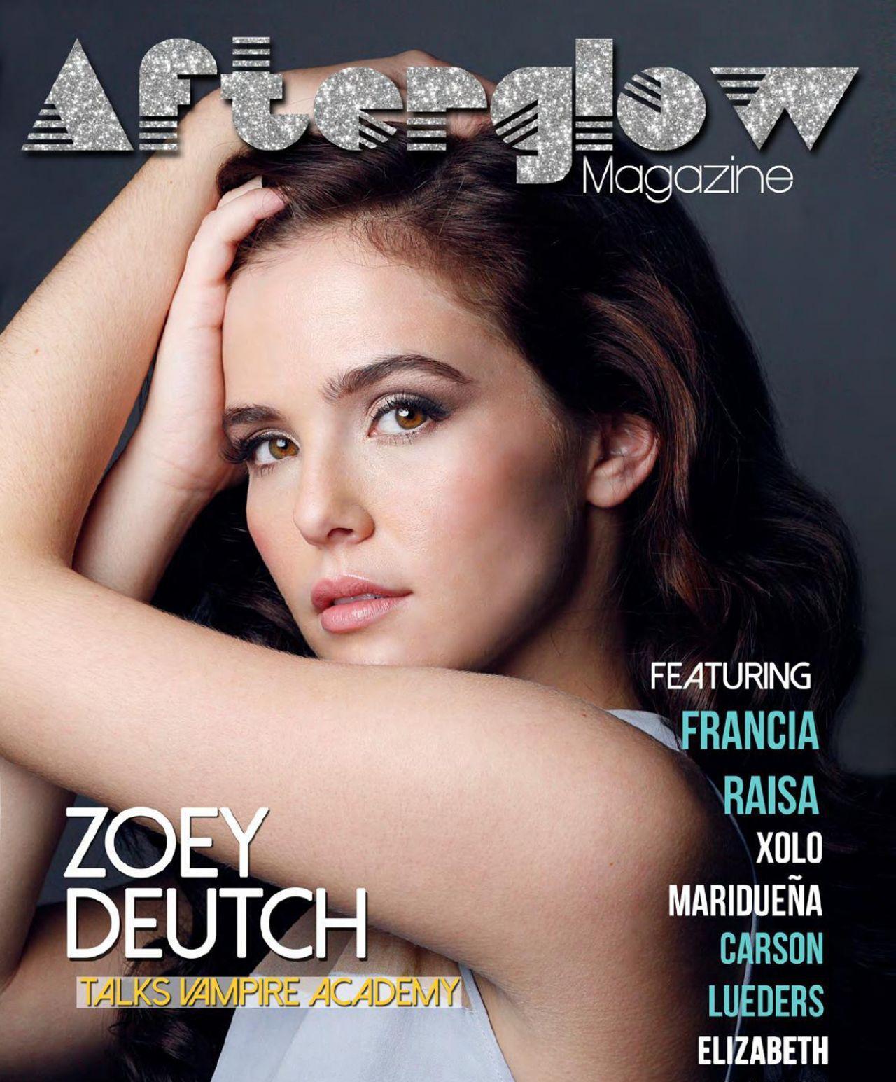 Zoey Deutch - AFTERGLOW Magazine - December 2013 Issue