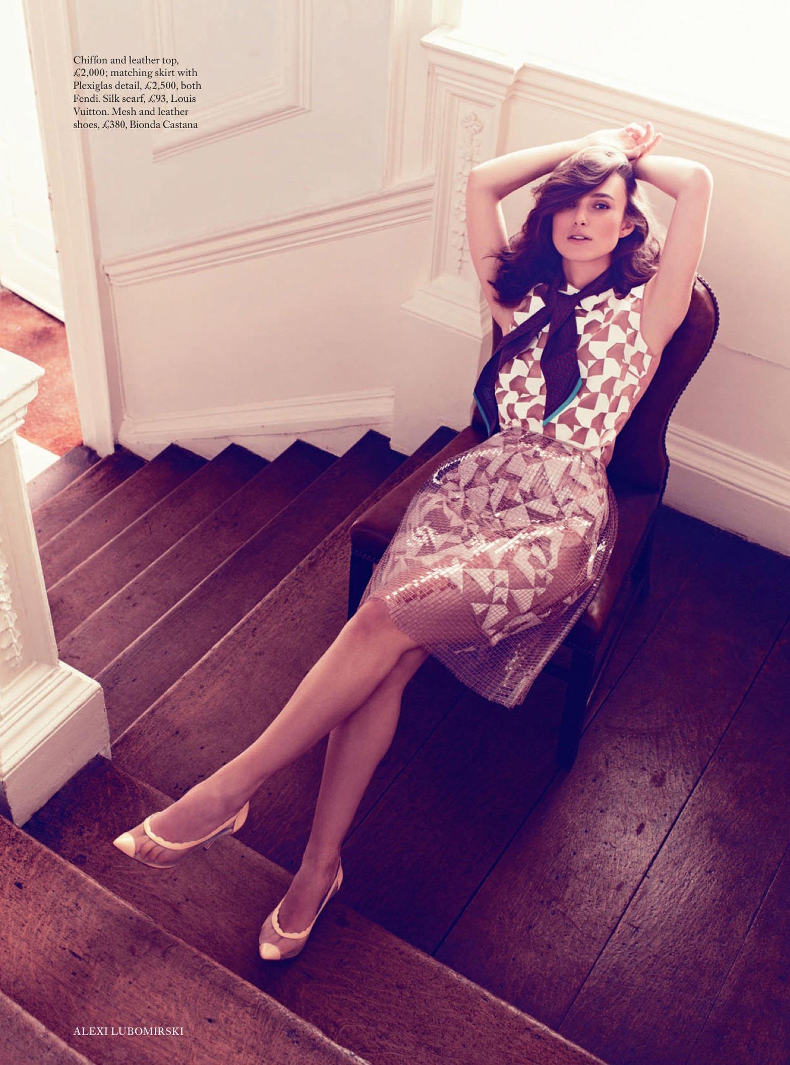 Keira Knightley Photoshoot For Harper S Bazaar Magazine