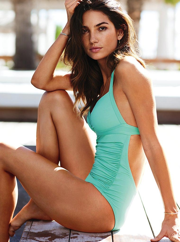 Lily Aldridge Photoshoots Victoria Secret