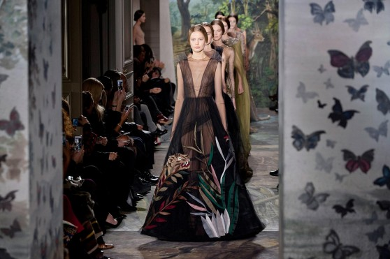"""""""VALENTINO"""" Haute Couture Full Show Spring Summer 2014 PFW Paris by Fashion Channel"""