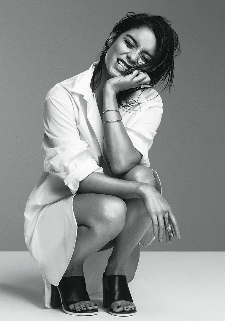 Vanessa Hudgens Photoshoot For Flare Magazine February