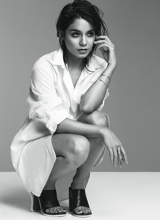 Vanessa Hudgens - David Roemer Photoshoot for Flare February 201