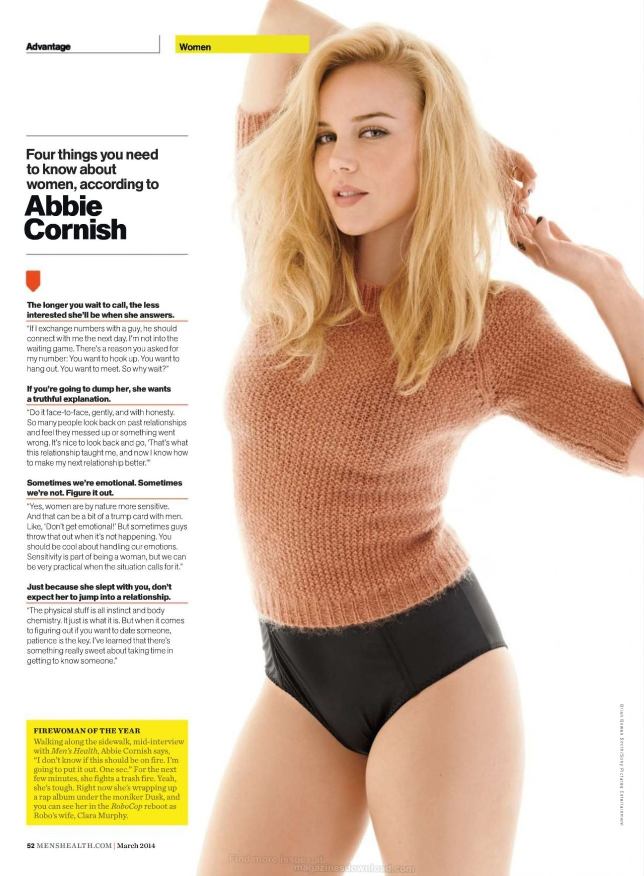 Abbie Cornish - MEN