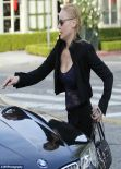 Abbie Cornish Street Style -  Out in Los Angeles - January 2013