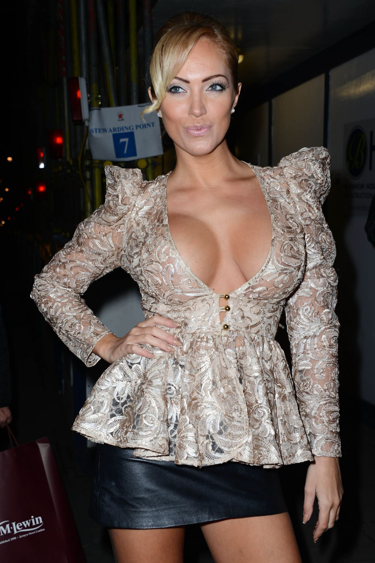 Aisleyne Horgan - WALLACE NUTS Magazine Party - London, January 2014