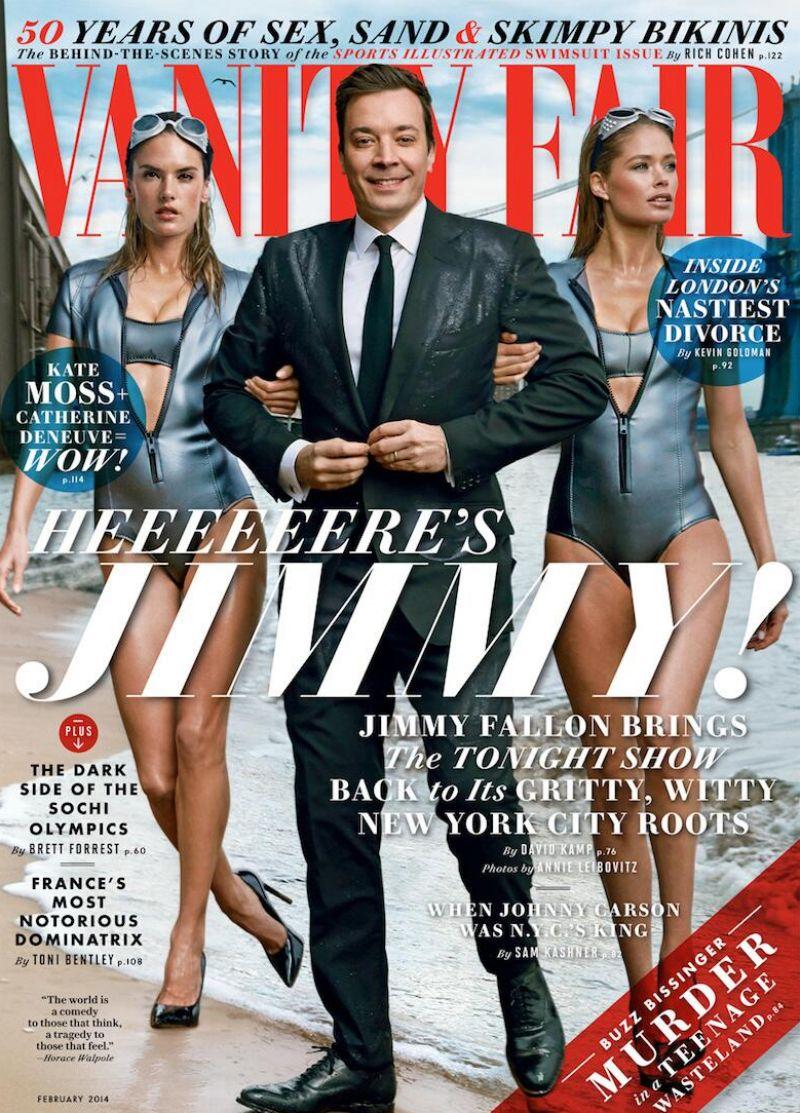 Alessandra Ambrosio & Doutzen Kroes - VANITY FAIR Magazine - February 2014 Cover