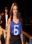 Alessandra Ambrosio - Mango 080 Fashion Show in Barcelona, January 2014