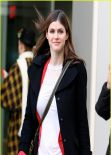 Alexandra Daddario Street Style - at Global