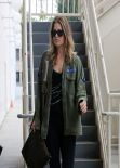 Ali Larter Street Style - Heads to Yoga Class, January 2014