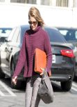 Ali Larter Style - Out and About in Los Angeles - January 2014