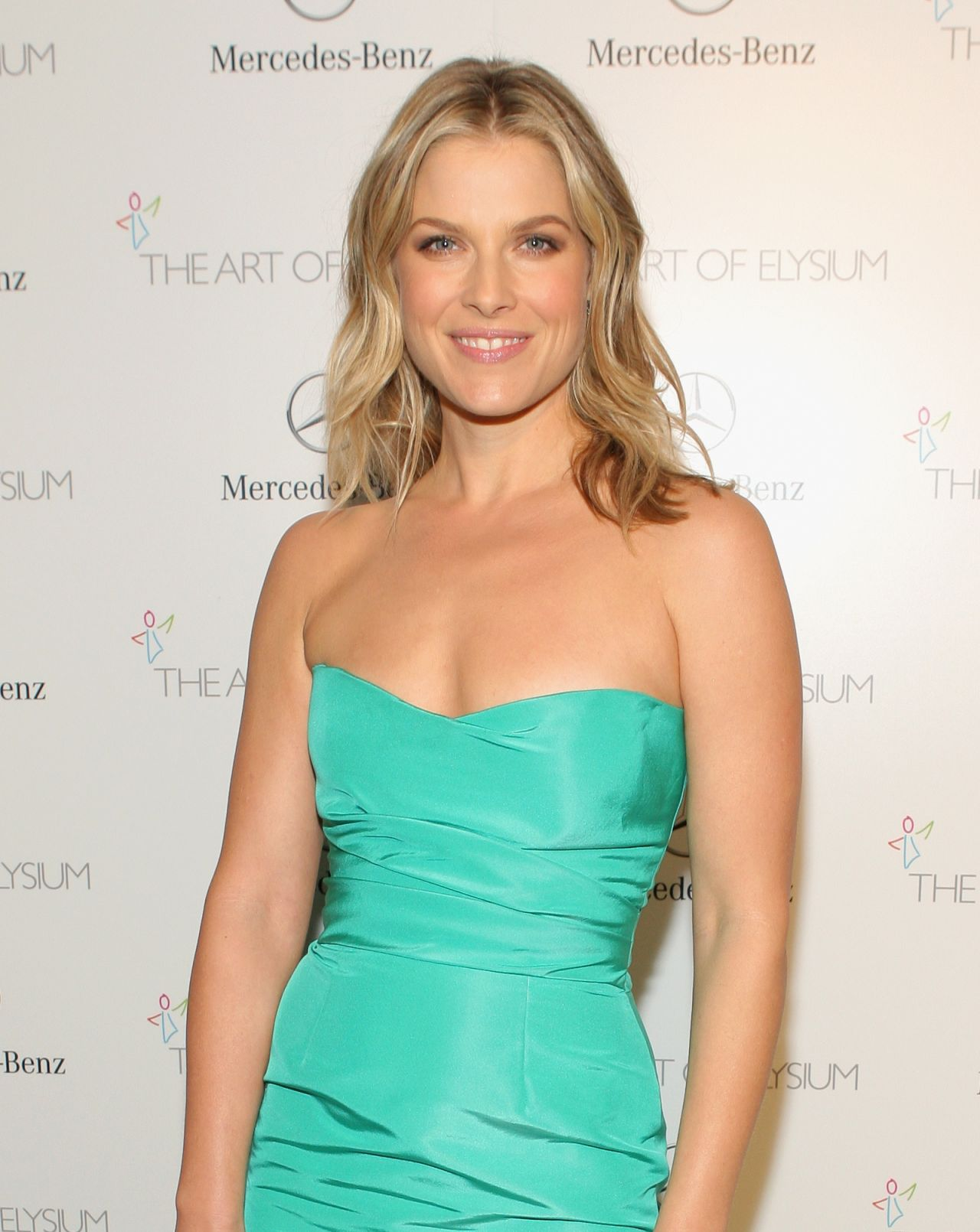 Ali Larter Wearing Monique Lhuillier at The Art of Elysium HEAVEN Gala in Los Angeles