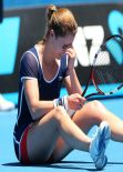Alizé Cornet - Australian Open - January 16, 2014