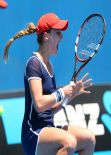 Alizé Cornet - Australian Open - January 16, 2014
