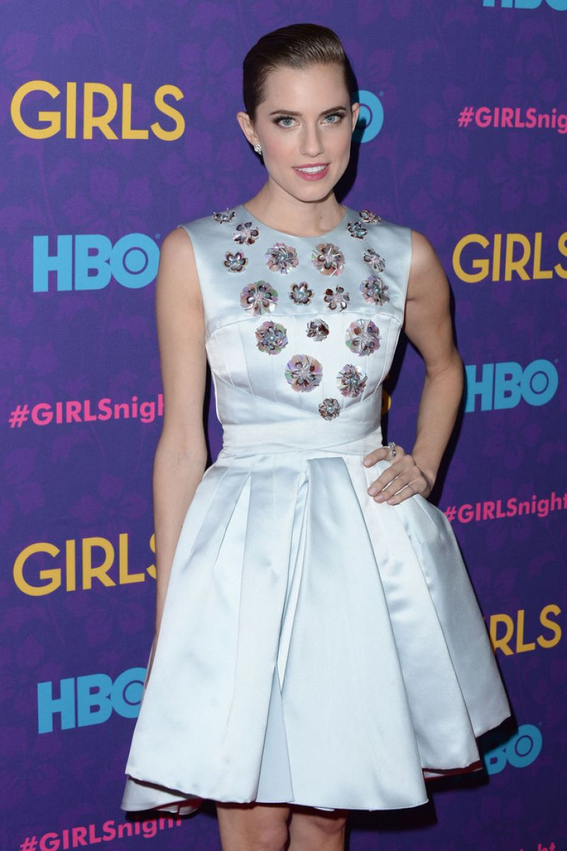 Allison Williams Attends GIRLS Season 3 Premiere in New York City