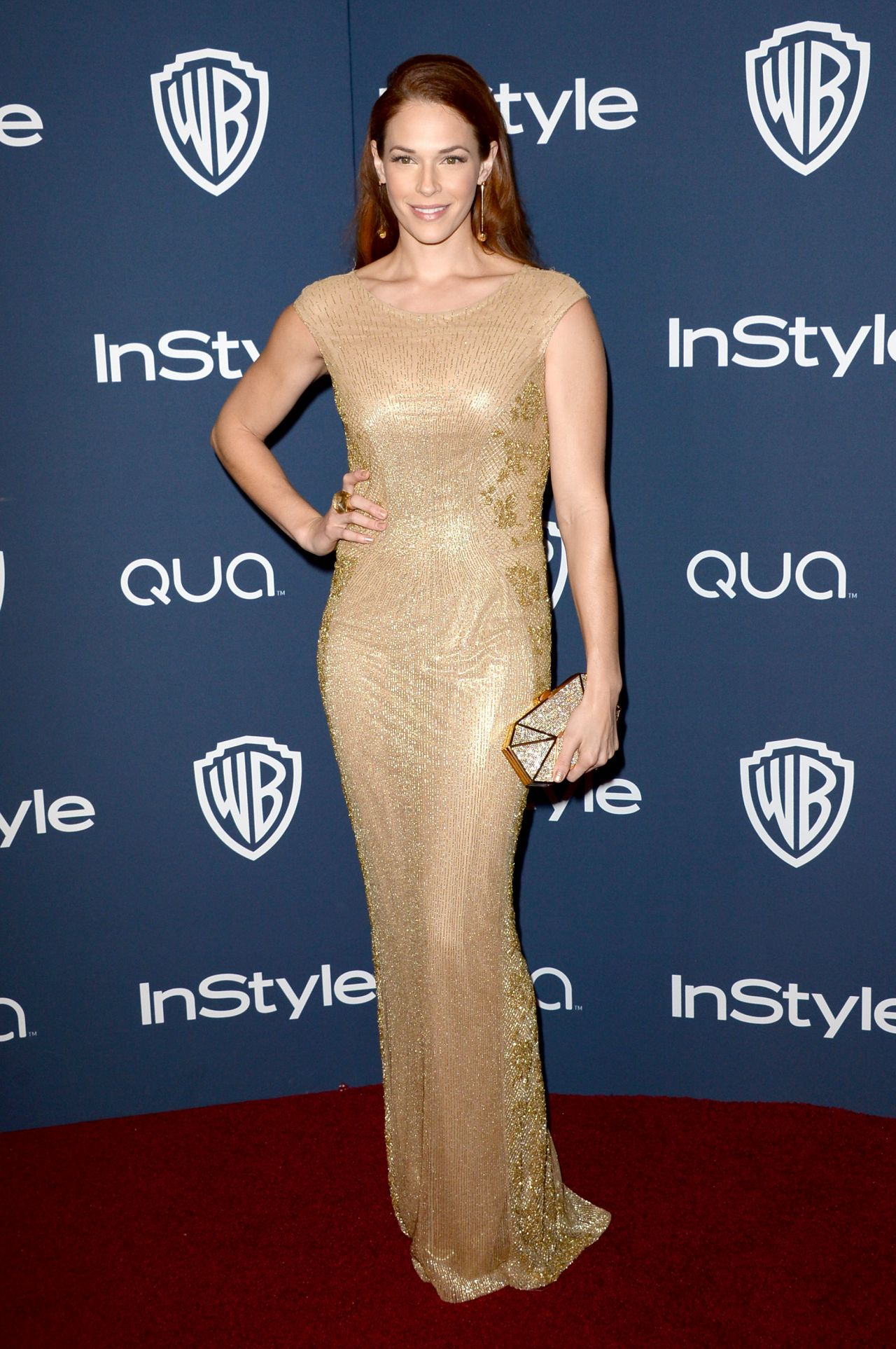 Amanda Righetti at 2014 Golden Globes Afterparty
