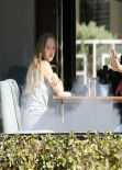 Amanda Seyfried Candids 2014 - Out for Lunch in Santa Monica